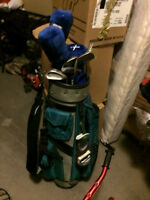 Fazer irons and bag
