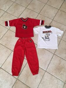 Ottawa Sens Reebok kit/ensemble - 4T