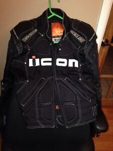 ICON MOTORCYCLE PROTECTIVE JACKET West Island Greater Montréal image 1
