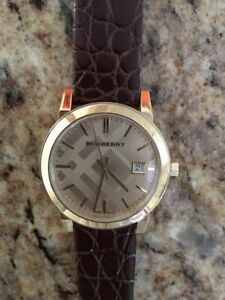 d8a8cca394f New display model Burberry unisex watch - after market band