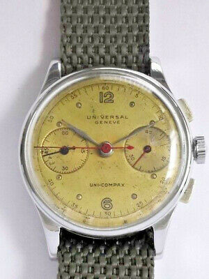 Universal Geneve - Uni-Compax  Original chronograph Vintage