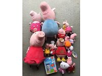 Peppa pig soft toy selection