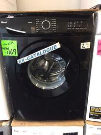 *WOW* Ex-Cat Swan 7kg GLOSS BLACK Washing Machine only £169!!