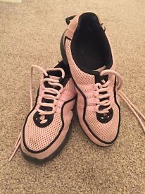 Bloch DRTs in Pink, UK size 13