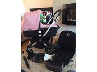 Immaculate bugaboo Cameleon 3 (choice of covers) pale pink