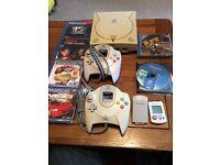 Sega Dreamcast retro console £85 Ono, Shenmue, resident evil, tomb raider