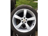 """18"""" alloys wheels 5x100"""