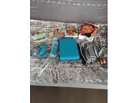 Blue Wii and 4 games