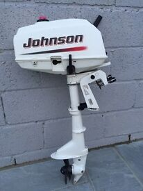 2005 Johnson 3.5hp outboard