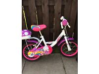 Girls small bike.