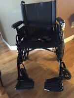 $450 OBO - Extra Wide Heavy Duty Wheel Chair 9000XDT