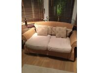 Wicker 2 Seater Settee