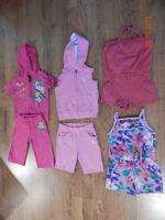 Vêtements d'été pour fille grandeur: 3 ans