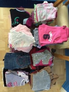Lot vetements fille 2-4 ans
