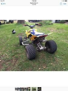 Suzuki LTR 450R negotiable West Island Greater Montréal image 2