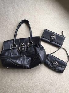 Coach purse, wallet and wristlet