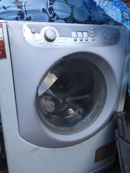 Hotpoint aqualtis washing machine breaking for parts spares