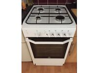 Indesit 15GGW Gas Cooker - White