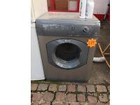 Silver tumble dryer