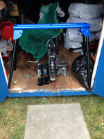 10 inch MITRE saw with clamps and stand