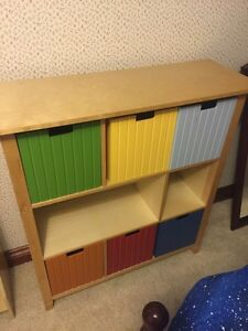 Solid wood storage. Perfect for toy room or child's room.  London Ontario image 1