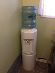 Water cooler with 7 bottles