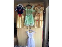 Girls 4x fancy dress costumes
