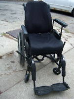 Patriot Wheelchair with extra cushions - gently used
