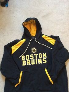 Boston Bruins Hoodie Sz Adult Med Will Fit Youth