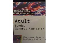 British Grand Prix Sunday Tickets