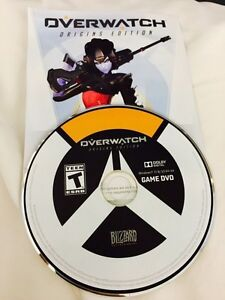OVERWATCH COLLECTOR'S EDITION PC GAME DISC/SERIAL only for sale!
