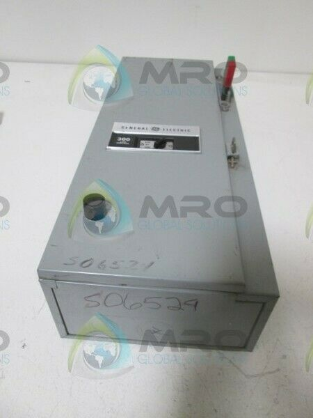 GENERAL ELECTRIC CR308 STARTER COMBINATION * USED *