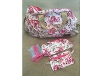 Lovely large baby changing bag