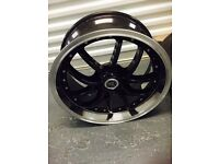 """BMW 5 6 7 series 18 """" inch black alloy wheels"""
