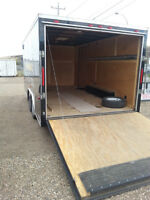 8x16 Cargo trailer for RENT