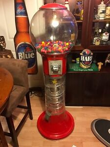 Huge industrial gumball machine