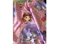 Sofia the first curtains & bedding