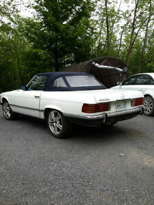 REDUCED PRICE--1973 MERCEDES 450 SL CONVERTIBLE