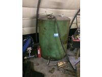 Large Steel Diesel Tank