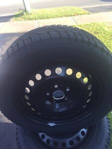 Brand New Hankook Winter Tires On Rims 205/55R16 Kitchener / Waterloo Kitchener Area image 6
