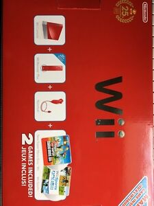25th Anniversary Red Wii