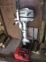 Honda 5 H.P.Four Stroke Outboard Motor (long shaft)
