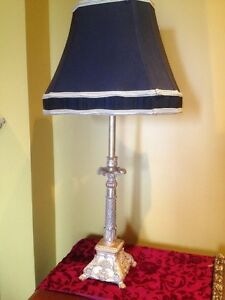 Tall Lamp Black Light Home Table Design Harbour Lighting Resin B