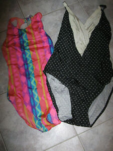 ...Classy QUALITY SWIM-SUITS...Small & Medium...FOUR IN ALL