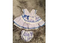 baby girl Spanish clothes designer rompers dresses