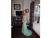 Formal Dress - Royal Queen US 4 - UK 8 Beautiful Mint Dress