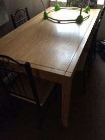 Solid wooden dining table SOLD