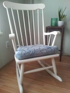 Refinished classic rocking chair