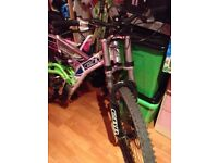 CBR Gatecrasher Downhill style mountain bike £75 Ono reluctant sale!