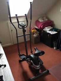 Body Sculpture 2-in-1 Cross Trainer And Bike